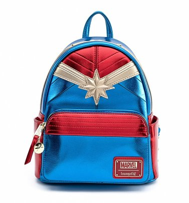 Loungefly Captain Marvel Classic Cosplay Mini Backpack