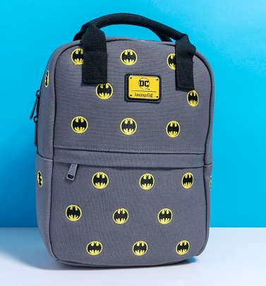 Loungefly Batman Embroidered Canvas Backpack