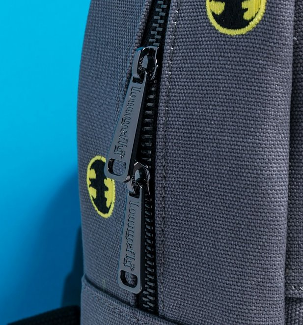 Loungefly DC Comics Batman Embroidered Canvas Backpack