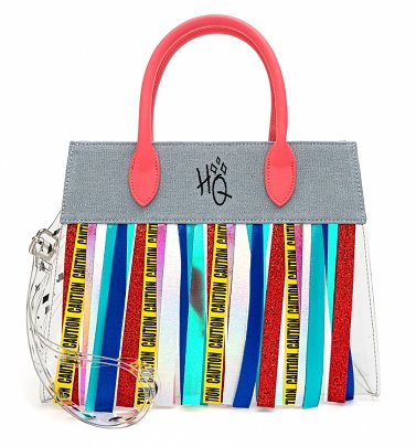Loungefly DC Comics Birds of Prey Harley Quinn Fringe Crossbody Bag