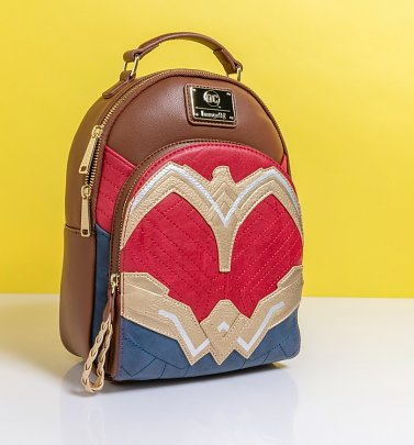 Loungefly Wonder Woman Cosplay Mini Backpack