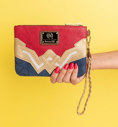 Loungefly DC Comics Wonder Woman Cosplay Wristlet