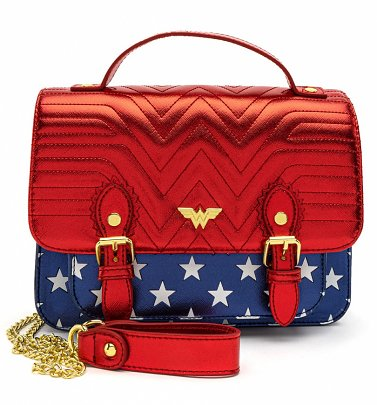 Loungefly DC Comics Wonder Woman Crossbody