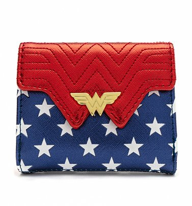 Loungefly DC Comics Wonder Woman Flap Wallet