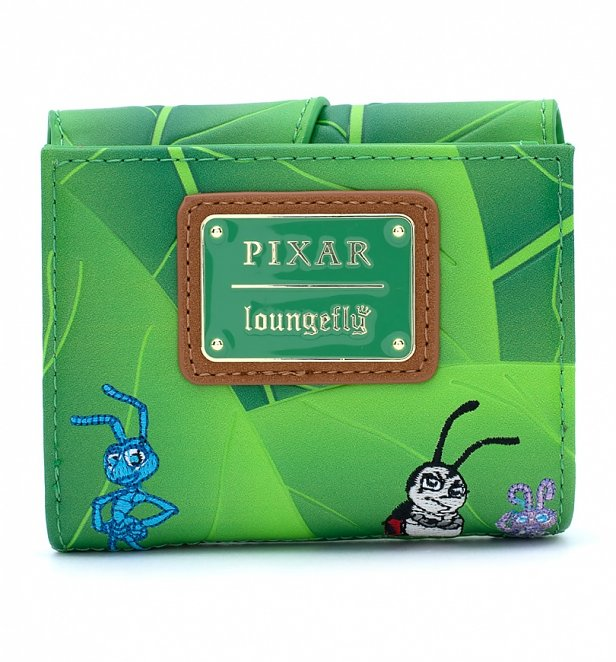 Loungefly Disney A Bugs Life Leaf Flap Wallet