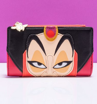 Loungefly Disney Aladdin Jafar Cosplay Wallet