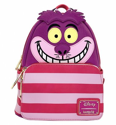 Loungefly Disney Alice In Wonderland Cheshire Cat Cosplay Mini Backpack