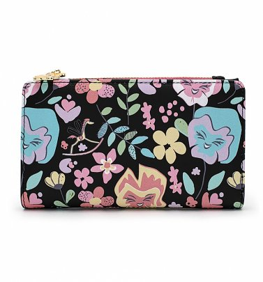 Loungefly Disney Alice In Wonderland Floral All Over Print Wallet
