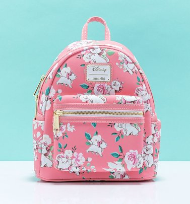 Loungefly Disney Aristocats Pink Mini Backpack