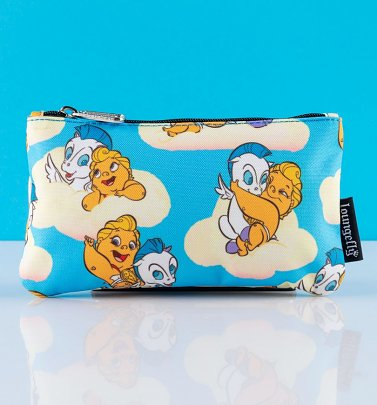 Loungefly Disney Baby Hercules and Pegasus All Over Print Nylon Pouch