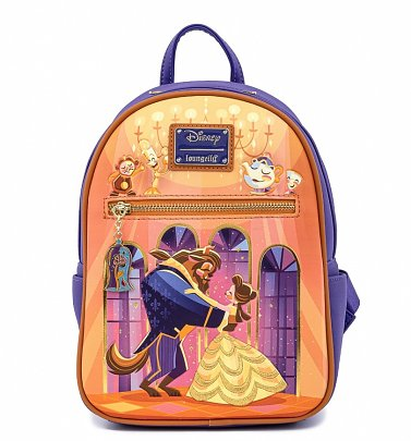Loungefly Disney Beauty And The Beast Ballroom Scene Mini Backpack