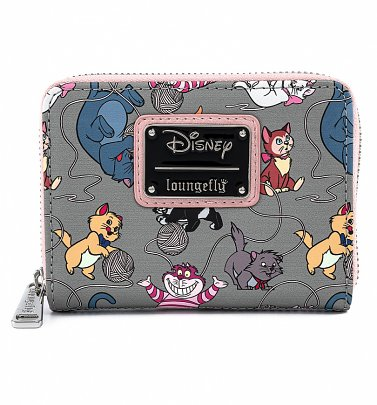 Loungefly Disney Cats Zip Around Wallet