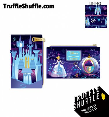Loungefly Disney Cinderella Castle Series Flap Wallet