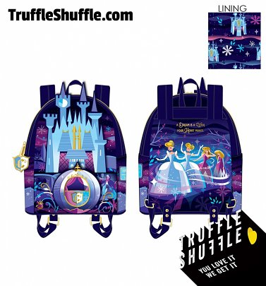 Loungefly Disney Cinderella Castle Series Mini Backpack