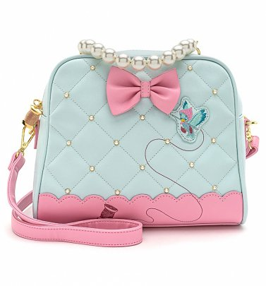 Loungefly Disney Cinderella Pearl Handle Crossbody Bag