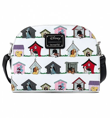 Loungefly Disney Dog Houses Crossbody Bag