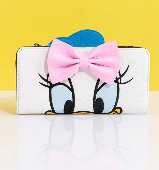Loungefly Disney Donald Duck Daisy Duck Reversible Wallet