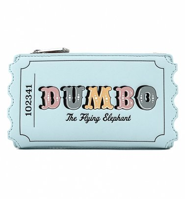 Loungefly Disney Dumbo Circus Ticket Flap Wallet