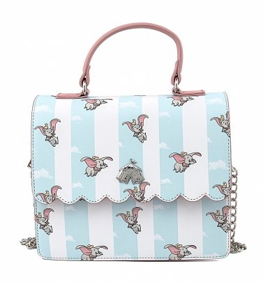 Loungefly Disney Dumbo Flying All Over Print Crossbody Bag