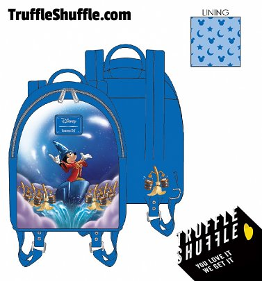 Loungefly Disney Fantasia Sorceror Mickey Mini Backpack
