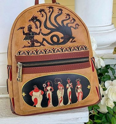 Loungefly Disney Hercules Muses Mini Backpack