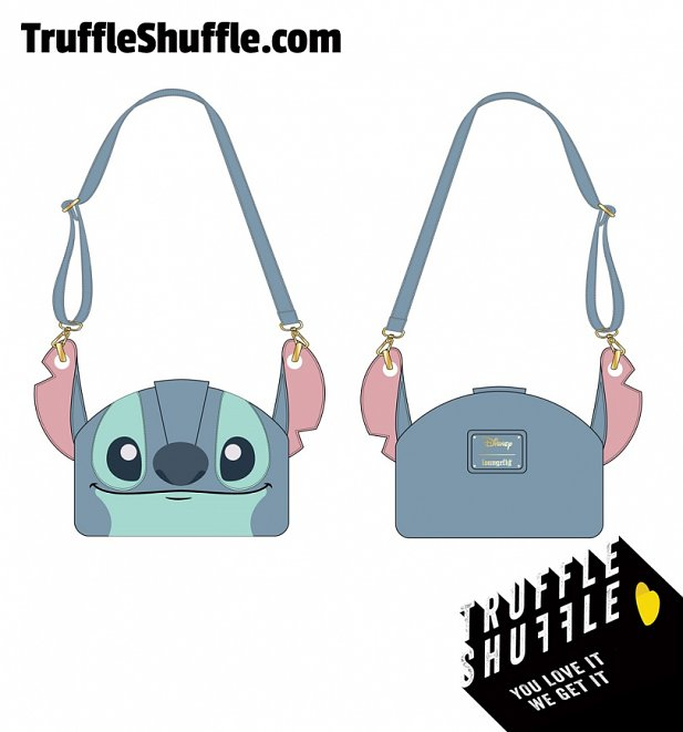 Loungefly Disney Lilo And Stitch Luau Cosplay Crossbody Bag