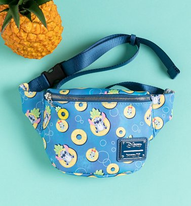 Loungefly Disney Lilo and Stitch Pineapple Bum Bag