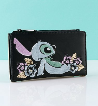 Loungefly Disney Lilo and Stitch Satin Flap Purse