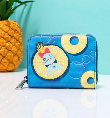 Loungefly Disney Lilo and Stitch Scrump Pineapple Wallet