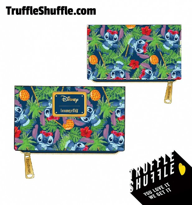 Loungefly Disney Lilo and Stitch Tropical Wallet