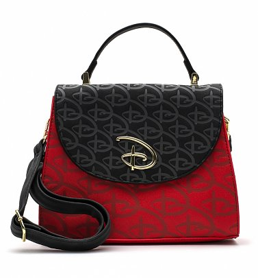 Loungefly Disney Logo Cross Body Bag with Removable Strap