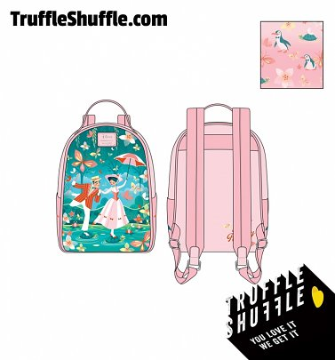 Loungefly Disney Mary Poppins Jolly Holiday Mini Backpack