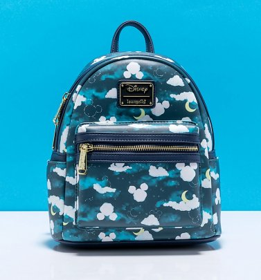 Loungefly Disney Mickey Mouse Clouds Mini Backpack