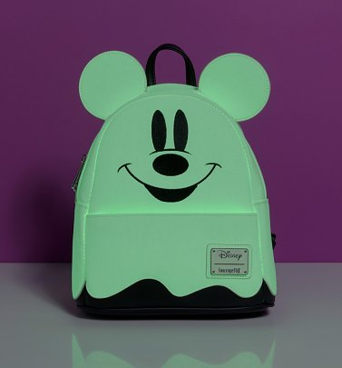 Loungefly Disney Mickey Mouse Ghost Mini Backpack