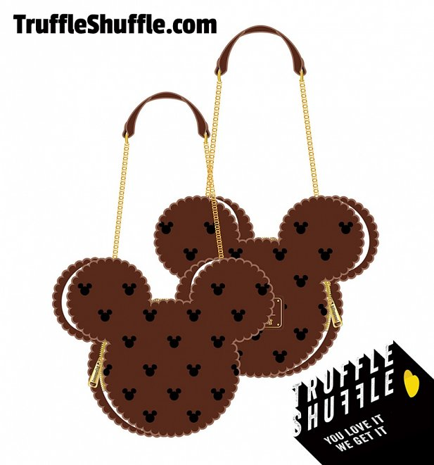 Loungefly Disney Mickey Mouse Ice Cream Sandwich Crossbody Bag