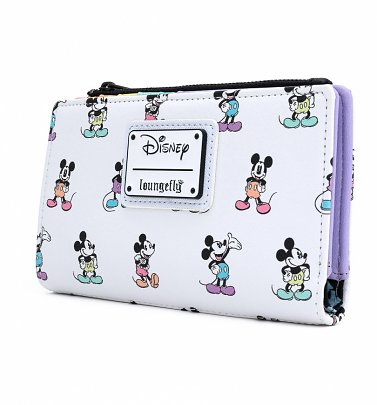 Loungefly Disney Mickey Mouse Pastel All Over Print Wallet