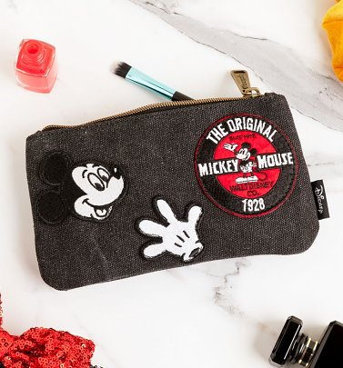 Loungefly Disney Mickey Mouse Patches Pouch