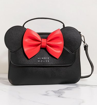 Loungefly Disney Minnie Ears & Bow Crossbody Bag