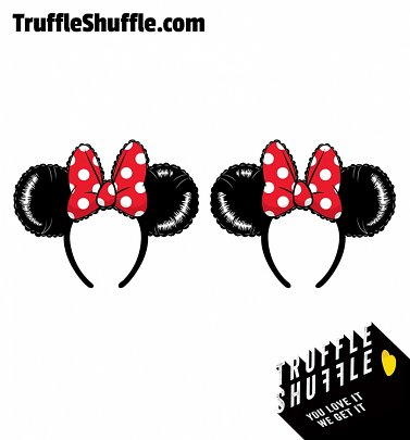Loungefly Disney Minnie Mouse Balloon Ears With Bow Headband