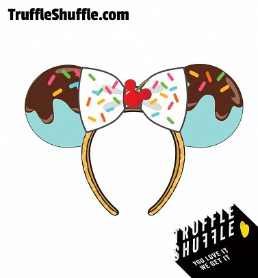 Loungefly Disney Minnie Mouse Sweet Treat Ears