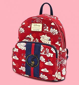 Loungefly Disney Mulan Cri-Kee Mini Backpack