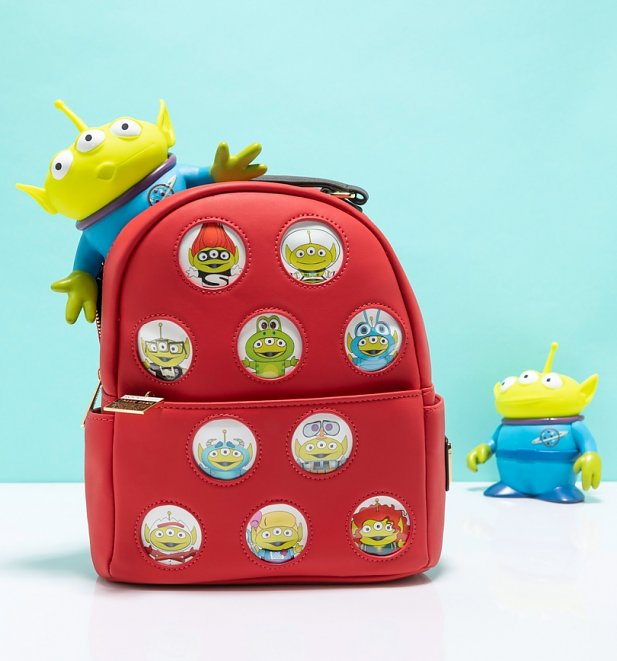 Loungefly Disney Pixar Aliens Mini Backpack