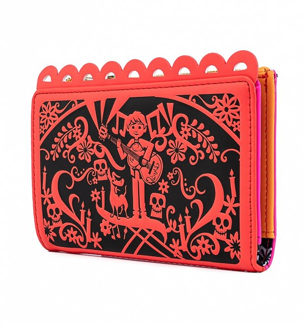 Loungefly Disney Pixar Coco Diecut Party Flags Wallet