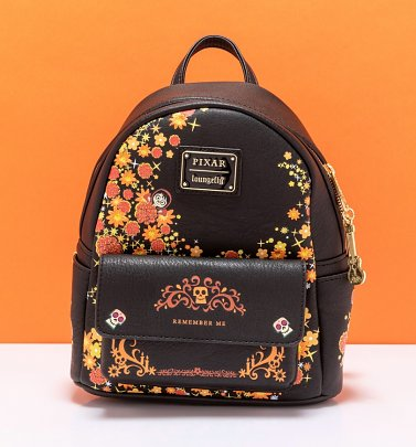 Loungefly Disney Pixar Coco Remember Me Mini Backpack
