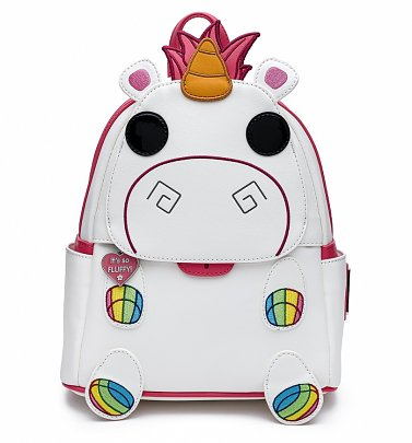 Loungefly Pop! Minions Fluffy Unicorn Mini Backpack