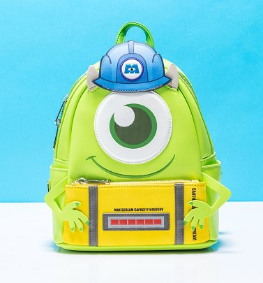 Loungefly Disney Pixar Monsters, Inc. Mike Cosplay Mini Backpack