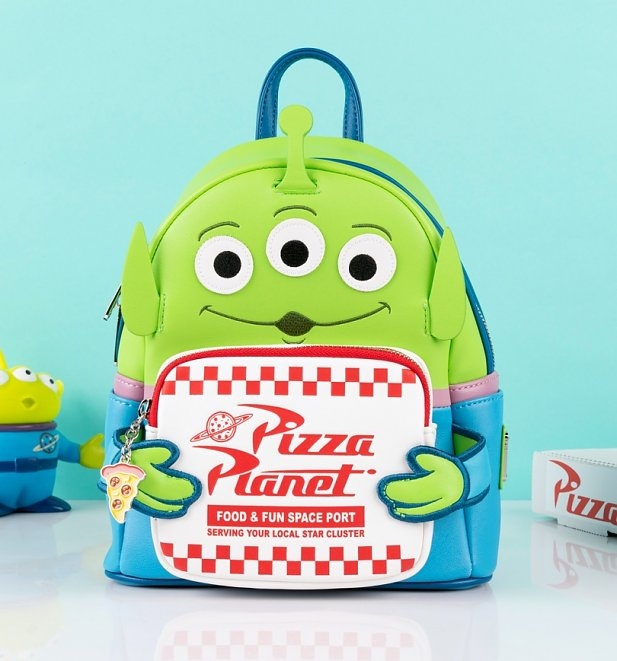 Loungefly Disney Pixar Toy Story Alien Pizza Box Mini Backpack