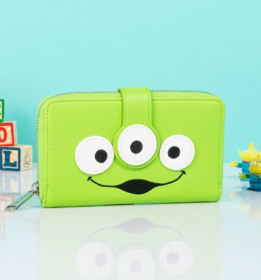 Loungefly Disney Pixar Toy Story Alien Wallet