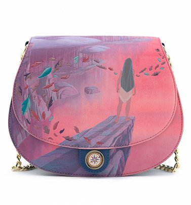 Loungefly Disney Pocahontas Colours Of The Wind Cross Body Bag
