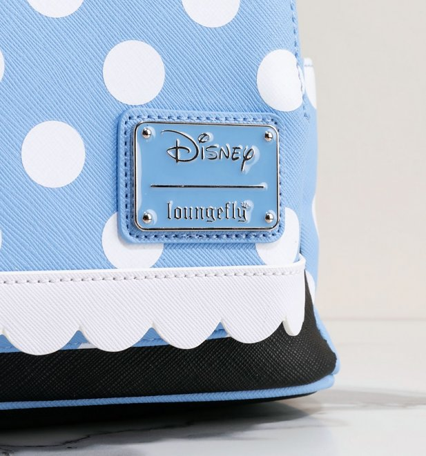 Loungefly Disney Positively Minnie Polka Dot Mini Backpack